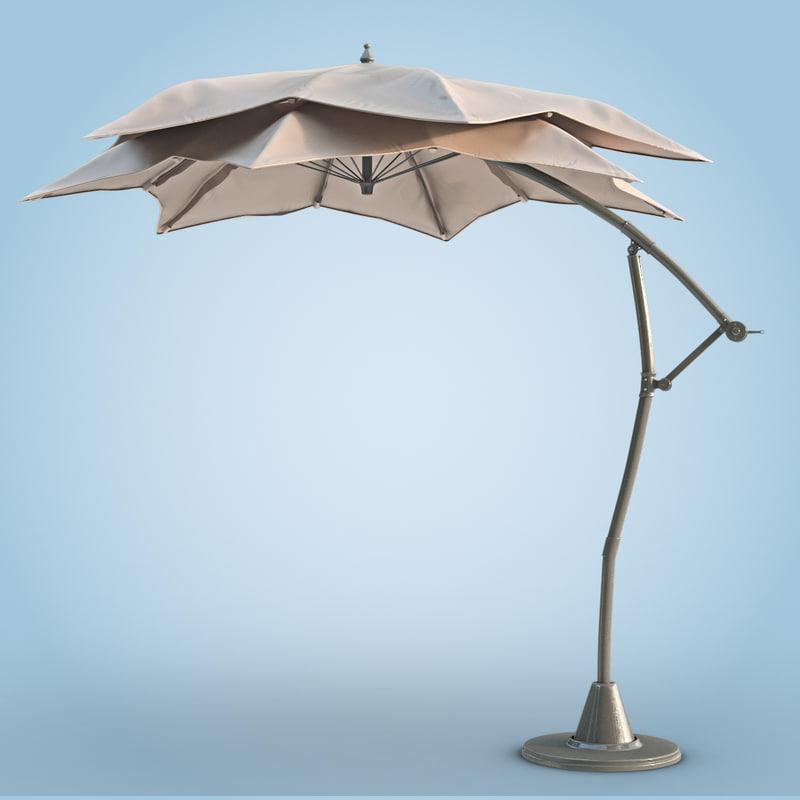 max patio umbrella modern outdoors