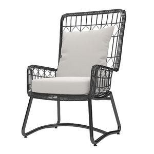 max capri palecek - lounge chair