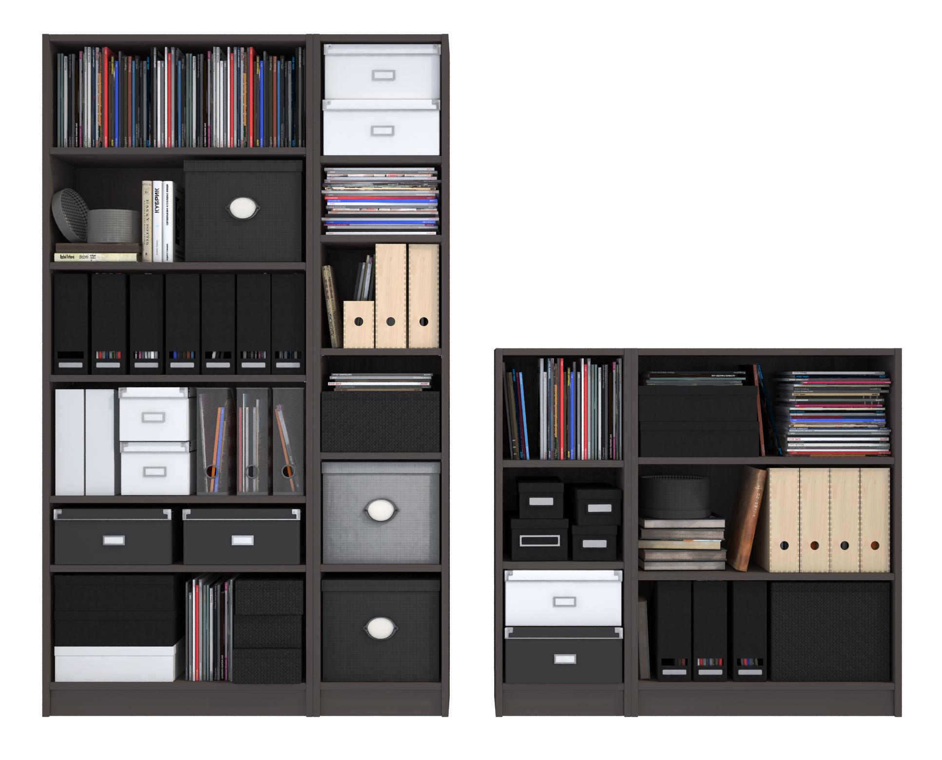 Billy Bookcase Medium Brown
