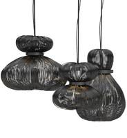 Kwal Swart Lamp Bloom - Lighting Fixture