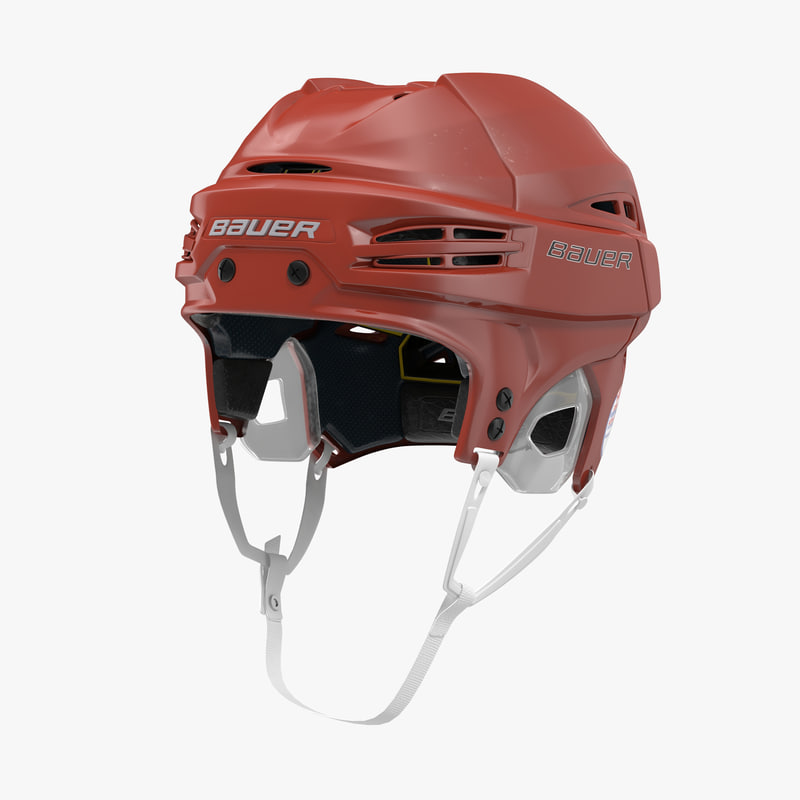 hockey helmet bauer re-akt obj