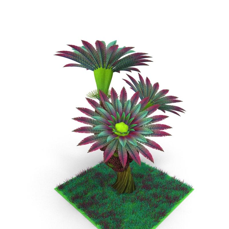 fantastic plant 3d max