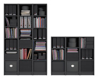Billy Bookcase black brown
