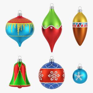 3d model christmas ornament