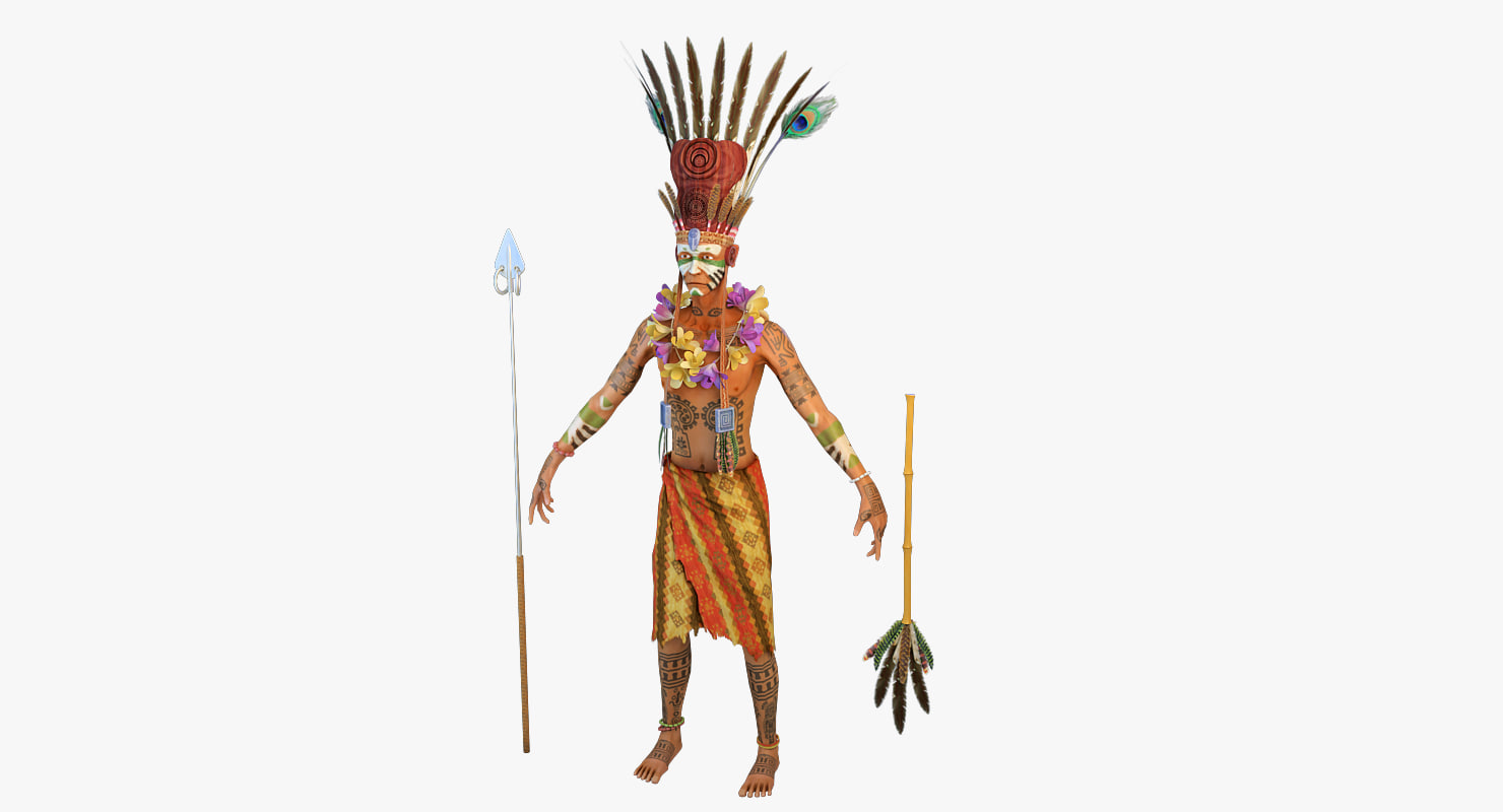 3d model witch doctor