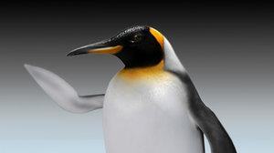 3dsmax emperor penguin