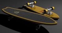 skateboard stinger 3d max