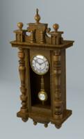 obj pendulum clock