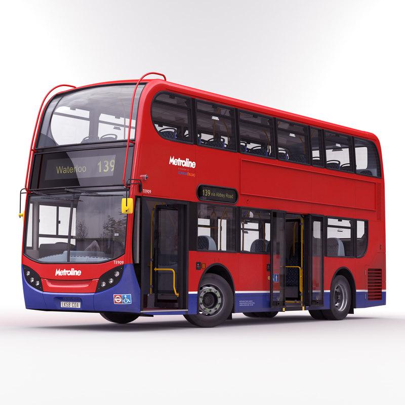 london bus enviro 400 max