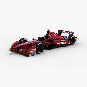 dragon racing formulae 3d model
