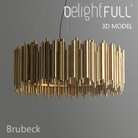 delightfull brubeck lamp light 3d model
