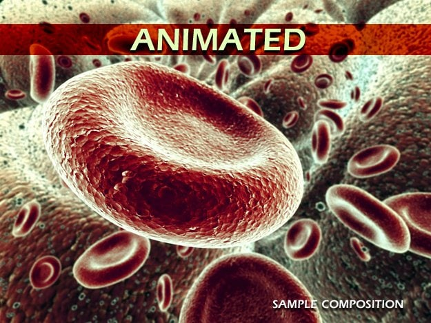 red blood cells animation 3d max