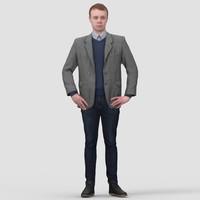 max human standing man