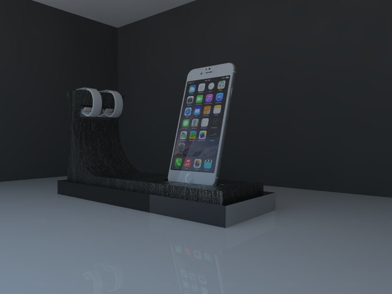 3ds stand iphone iwacht