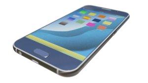 3d model smart phone