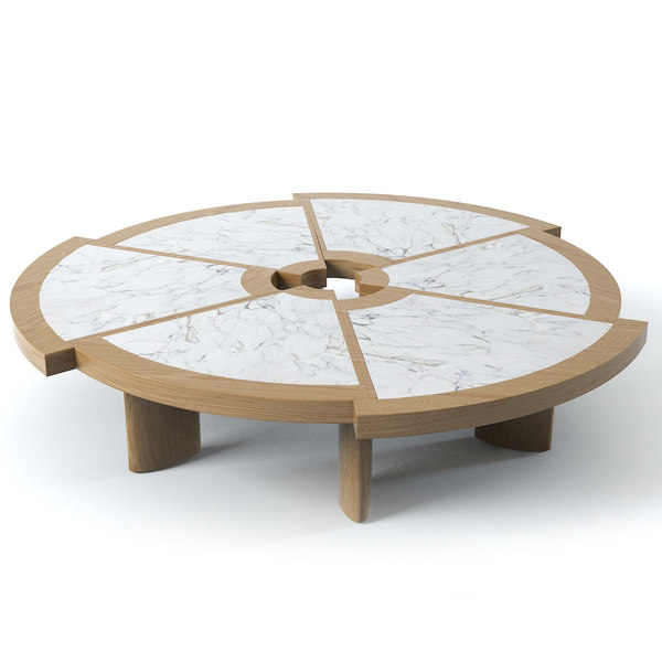 3d cassina rio table model