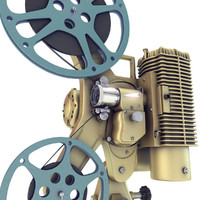 Old 8mm projector Vray