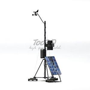 wifi weather station 3d model
