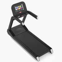 3d model gym equipment treadmill exercise