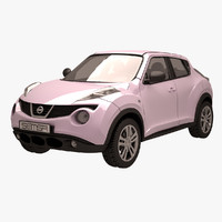 3ds max nissan juke pink