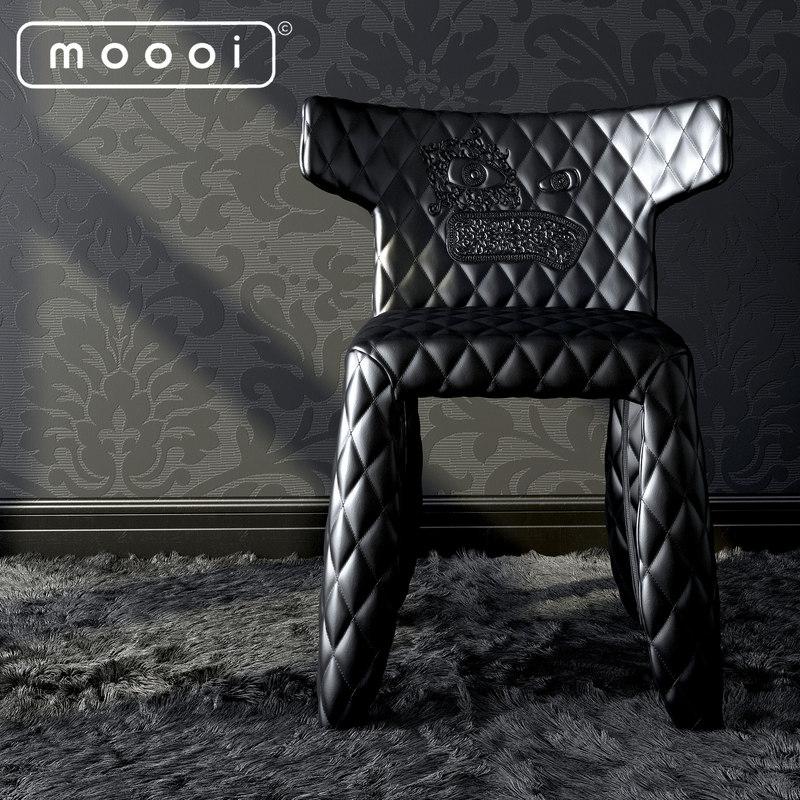 3d moooi monster chair