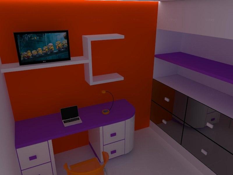 3ds kid room scene