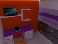 3ds kid room scene