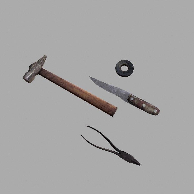 tool craft 3d obj