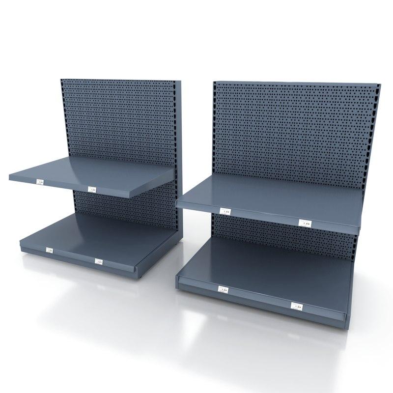 3d shelving units