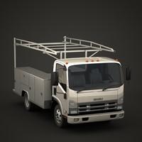 Isuzu N-series utility truck