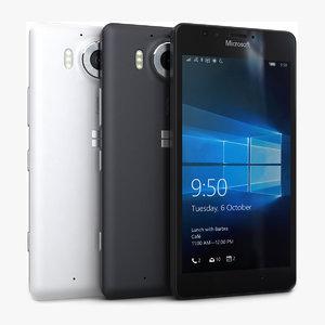 microsoft lumia 950 color 3ds