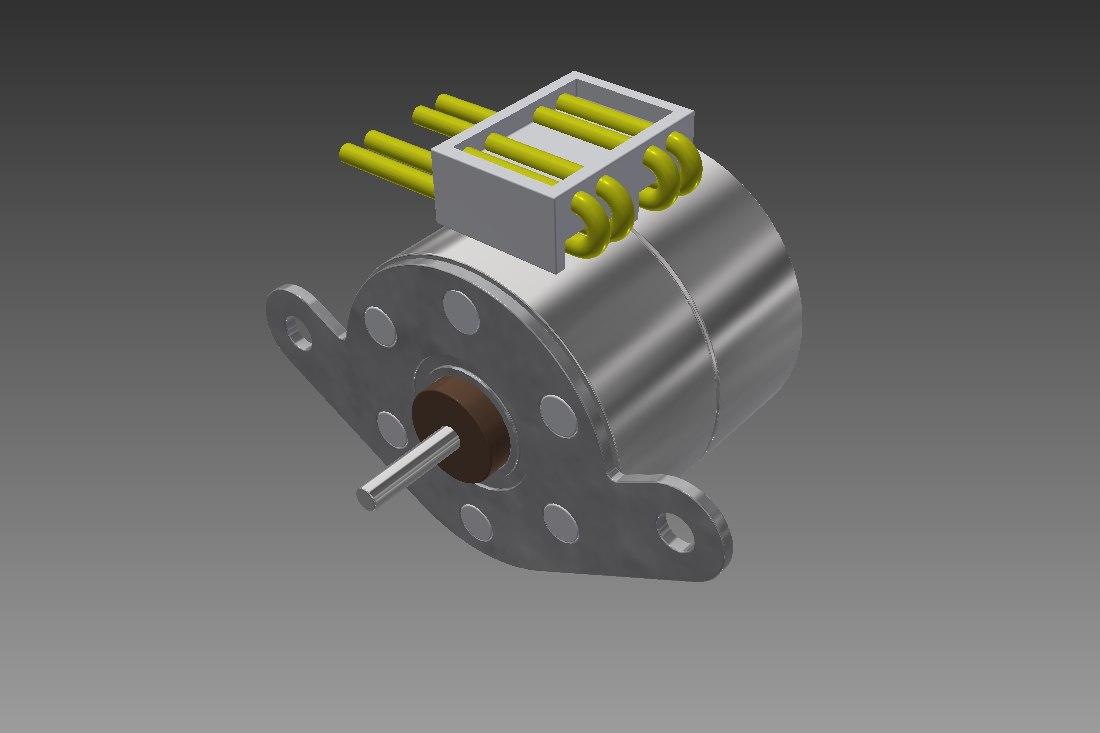 3dm pm20l-020 step motor