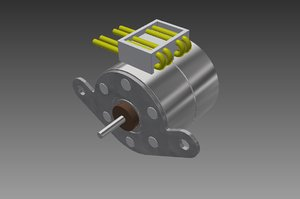 3dm pm20l-020 step motor