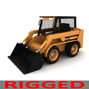 loader construction industrial 3d max