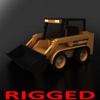 3d bobcat model