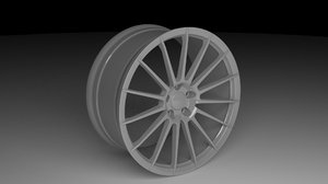 hre wheels 3d obj