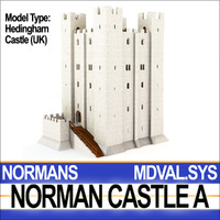 Medieval Norman Castle A Hedingham UK