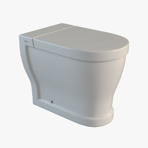 free toilet ceramica cielo 3d model