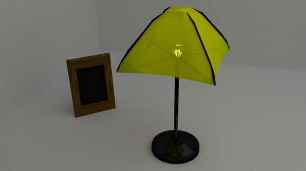 free fbx mode lamp photoframe