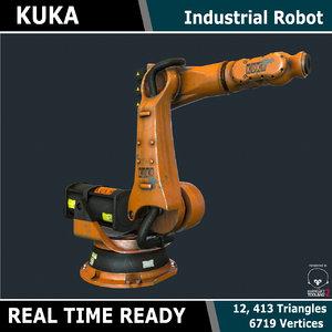 3d ready kuka industrial robot