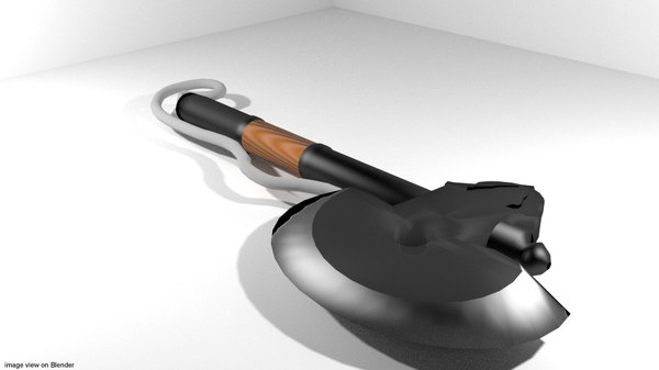 axe japaness ono 3d model