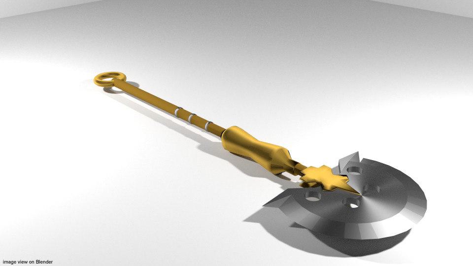 axe sagaris 3d model