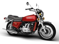 3d honda gl1000 goldwing 1975