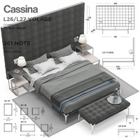 3d model cassina volage