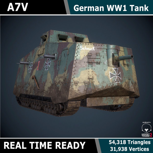 3d model real time ready a7v