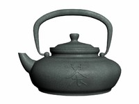 chinese teapot 3d max