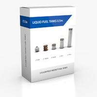 3d liquid rocket fuel tanks