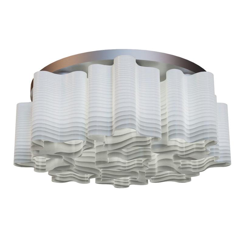 3dsmax chandelier nubi ondoso