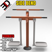 3d outdoor bend model
