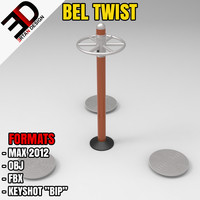 3d outdoor bel twist